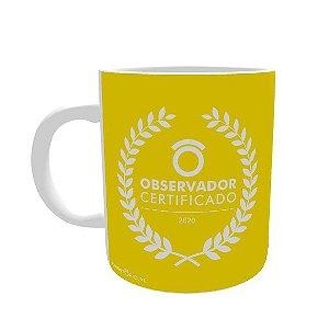 CANECA PORCELANA (RETA) 325ML - ***Observador Certificado***