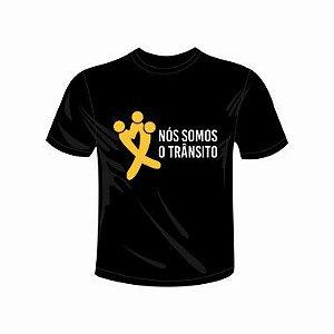 Camiseta Preta - Nós Somos o Trânsito