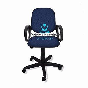 Cadeira Diretor Giratória Braço Orelha Injetada