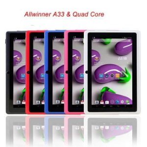 "A33 7"" Tablet PC w / 512MB ram, 8GB ROM - azul"