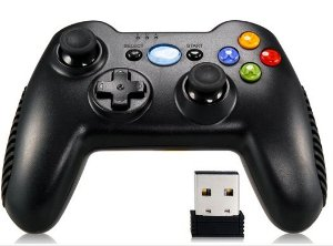 Controle Sem Fio PC / Android / PS3 Games (Black)