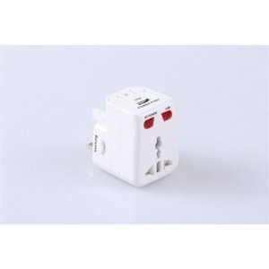 Adaptador Universal NewLink com USB AD102NL Branco