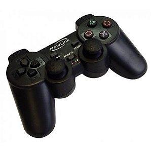 Joypad Sem Fio NewLink PS3 Extreme JP101