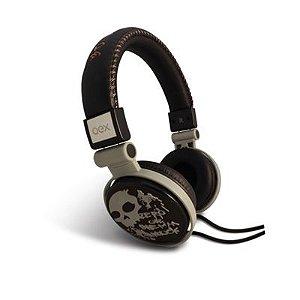 Headphone OEX Skull Dobrável HP-101 com Microfone