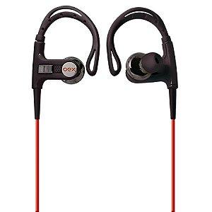 Fone de Ouvido OEX Sport Preto c/ Vermelho FN-401
