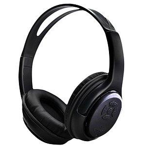 Headset Bluetooth NewLink Com Microfone Embutido  Freedom Preto HS-106