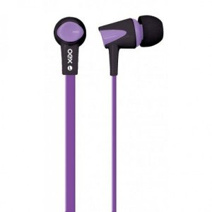 Fone de Ouvido Intra Auricular Newex Colorhit Roxo - FN-203
