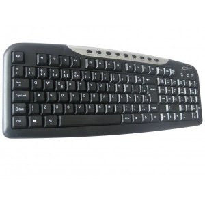 Teclado Multimídia NewLink Light Prata TC306