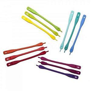 Marcador de taças Cinto em 12 peças em cores varidas ZR2870204 - Garden Du Vin