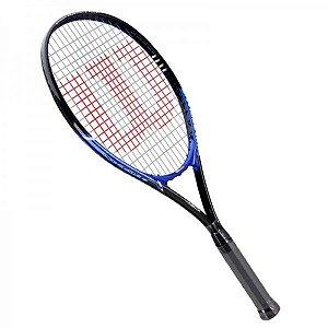 Raquete de Tênis Wilson Grand Slam XL L3 Preta e Azul