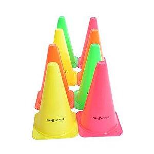 Kit de Cones Agilidade 20,5cm 8 Unidades G207 - ProAction