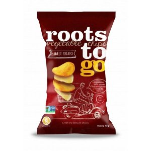 Chips Mix de Batata Doce Roots To Go 45g