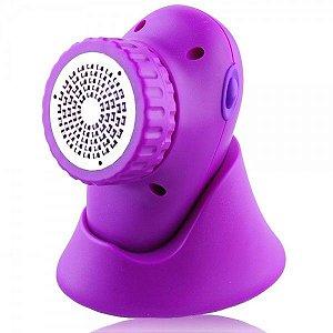 Massageador para os Pés Vibratório Feet Care Ana Hickmann RM PE835C PU Roxo - RelaxMedic