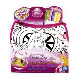 Bolsa Hipster para colorir Princesa (Bela Adormecida) - Toyng