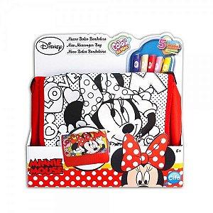 Bolsa Hipster para colorir Minnie - Toyng