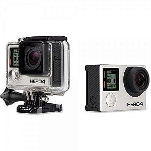 Câmera GoPro Hero 4 Black 12 Mega Pixels, 4K, 30 fps
