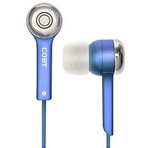 Fone de ouvido estéreo digital JAMMERZ azul - CVE52 - Coby