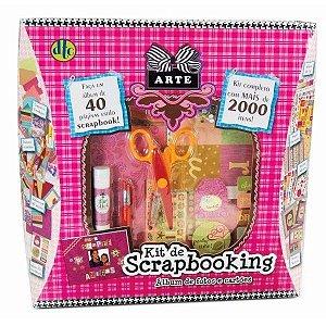 Kit De Scrapbooking - Album De Fotos E Cartões - DTC