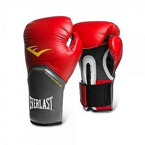 Luva de Boxe Everlast Pro Style 16Oz Vermelha
