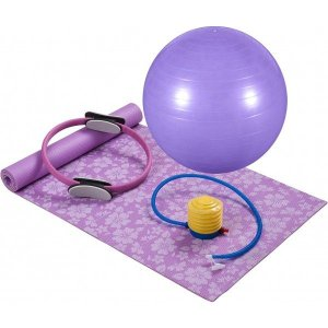 Kit para Pilates Lilás - Mor