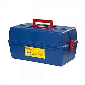 Maleta para ferramentas 3 bandejas Azul - Multbox