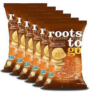 Chips de Cará Roots To Go 45g - 06 unidades