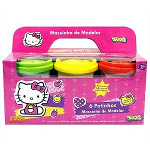 Massinha Hello Kitty - 6 Potes - Sunny