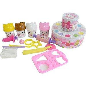Festa da Hello Kitty Massinha - Sunny Brinquedos
