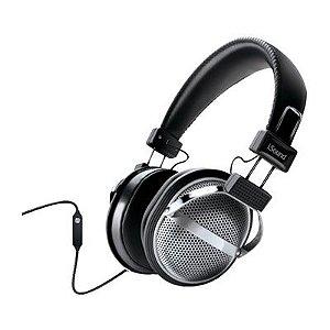 Fone de ouvido tipo headphone estilo retrô com microfone e controle de volume - DGHP5526 - iSound