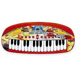 Teclado Musical Infantil Carros - Toyng