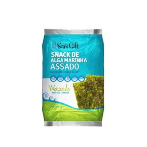 Snack de Alga Marinha Assado – Wasabi - Sea´s Gift