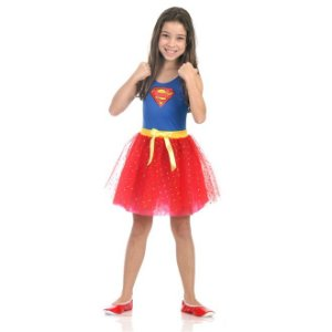 Fantasia Super Mulher Dress Up - Sulamericana