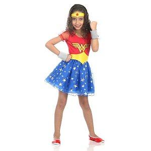 Fantasia Mulher Maravilha Princesa - Sulamericana