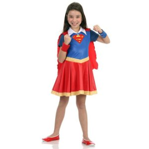 Fantasia Super Mulher DC Super Hero Girls - Sulamericana