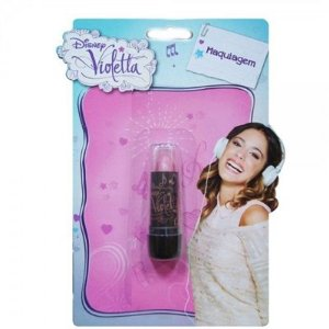 Batom Violetta Rosa Escuro Cor V01 - Beauty Brinq