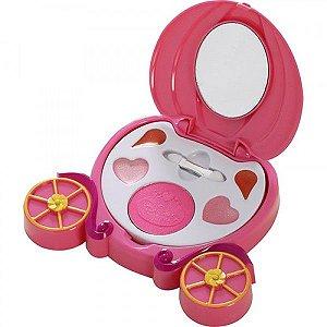 Estojo De Maquigem Carruagem Princesas - Beauty Brinq