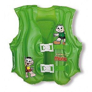 Colete Inflável Turma da Mônica Verde - Mor
