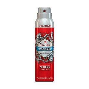 Desodorante Aerosol Antitranspirante Matador 93g - Old Spice