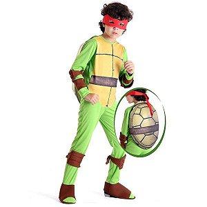 Fantasia Tartaruga Ninja Raphael Tamanho M - Sulamericana