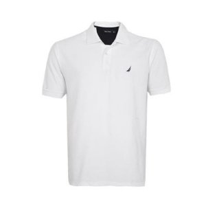 Camisa Polo Nautica Branca