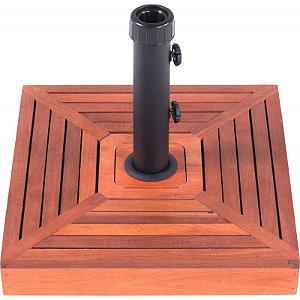 Base em madeira para Ombrelone 15 kg - Bel Fix