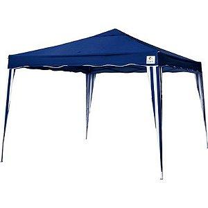 Tenda Gazebo Dobrável 3x3m - Azul - Bel Fix