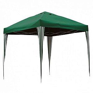 Tenda Gazebo Dobrável 3x3m - Verde - Bel Fix
