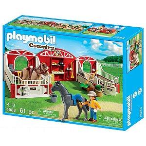 Playmobil Poney com Estábulo - Sunny