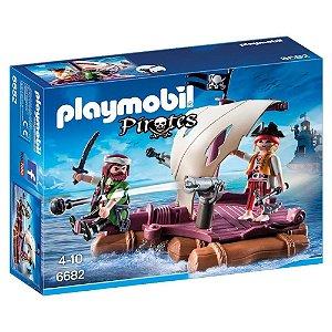 Playmobil Jangada Com Piratas - Sunny Brinquedos