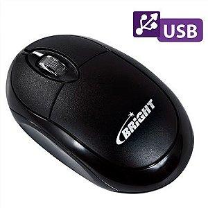 Mouse Óptico USB Espanha 0106 Preto - Bright