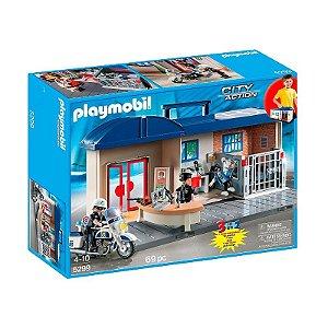 Playmobil Estação De Comando Da Polícia - Policia