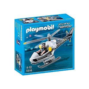 Playmobil Helicóptero De Polícia - Edição Especial - Sunny