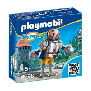 Playmobil Super 4 Guardião Real Sir Ulf - Sunny