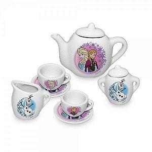 Jogo de Chá de Porcelana Frozen - Toyng